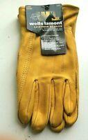 Wells Lamont Men's Premium Leather Work Gloves - NEW