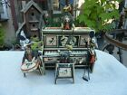 Vintage Early 1900s Marx Merrymakers Piano Band Mice Players Tin Toy Wind up