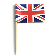 100pcs Union Jack Cupcake Picks,UK flag cup Cake Toppers,cute party supply