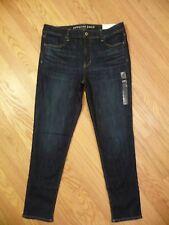 Womens NEW AE American Eagle Hi-Rise Jegging Super Stretch Dark Denim Jeans 16 R