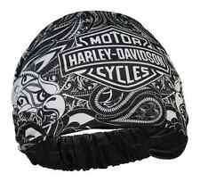 Harley-Davidson Women's Paisley Eagle Bar & Shield Headband Scrunchie HE17288