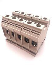 DIN Rail Terminal Blocks 5 Quantity DK35N Dinkle 1/0 AWG Gauge 150A 600V UL