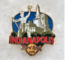 HARD ROCK CAFE INDIANAPOLIS GREETINGS FROM GUITAR PICK SERIES PIN # 97607
