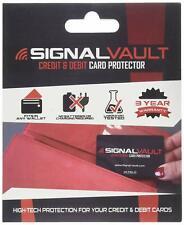 Signalvault RFID Blocking Signal Vault Credit & Debit Card Protector