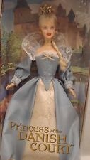 Dolls of the World The Prince Collection - Princess of the Danish Court Barbie