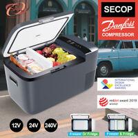 ICECO GO20 21QT Dual Zone Portable Freezer Fridge 12V Cooler APP, Truck SUV(Gray