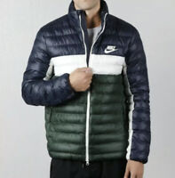 NIKE MEN THERMORE SYNTHETIC FILL PUFFER JACKET BLUE SAIL (MEDIUM) - BV4685-451