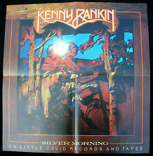 Kenny Rankin Silver Morning 1974 Us Org Promo Poster Singer-Songwriter Minty!