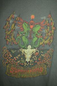 NEW MOE. Method Man Willie Nelson Scamp Summer Camp 2009 Fest T-Shirt Mens 2XL