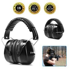 2018 Safety Sound Impact Ear Muffs Hearing Protection Noise Reduction 34dB Black