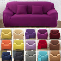 1/2/3/4 Seat Universal Stretch Sofa Cover Slipcover Chair Couch Protector Settee