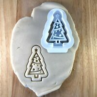 Christmas tree - Cookie Cutter - Cute - Biscuit - Fondant - Clay - Play Dough