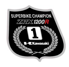 Kawasaki ZRX1200R Superbike Champion decal sticker