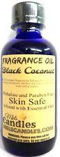 Black Coconut 4 Ounce / 118.29 ml Glass Bottle of Fragrance Oil