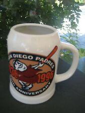 Mlb San Diego Padres 60Th Anniversary Beer Coffee Mug Fan Favorite