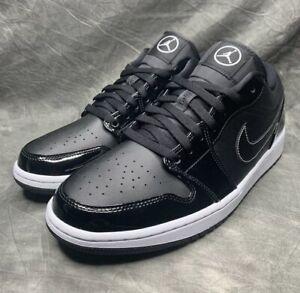 NEW Nike Air Jordan 1 Low SE All Star 2021 Black Carbon Fiber Men's DD1650-001