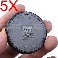 5x Kamera Rück Objektiv Deckel f Olympus Panasonic Lumix Micro Four Thirds Lens