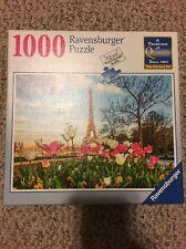 Ravernsburger Eiffel Tulips Paris 1000 Piece Puzzle