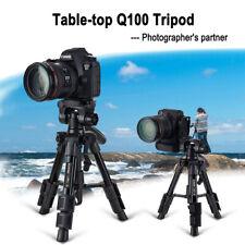 ZOMEI Q100 Table Professional Portable Tripod Flexible Aluminium For DSLR Camera