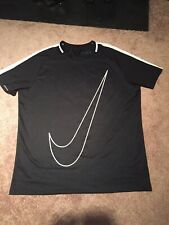 Nike Mens Dri-Fit Dry Academy Soccer Shirt Tee Size Xxl Black