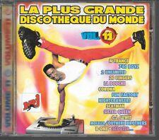 CD COMPIL 25 TITRES--PLUS GRANDE DISCOTHEQUE DU MONDE VOL 11--N'TRANCE/CORONA