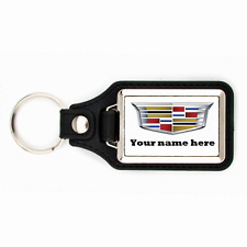 PERSONALIZED CADILLAC KEYCHAIN YOUR NAME HERE KEY CHAIN RING ESCALADE XTS