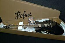 HOFNER HCT-VTH-BK (USA) Verythin Semi hollow Electric Guitar JET BLACK 335 2nd