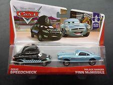 DISNEY PIXAR CARS DOUG SPEEDCHECK PALACE DANGER FINN MCMISSILE 2 PACK 2013 SAVE