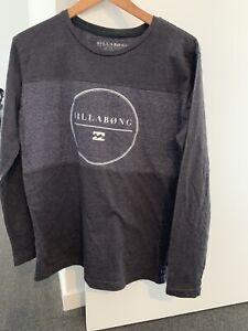 Billabong Small Mens Long Sleeve Slim Fit Tshirt