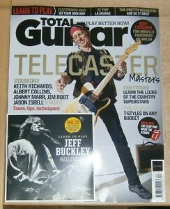 Total Guitar magazine #343 Apr 2021 Telecaster Masters Keith Richards + LTP CD