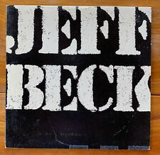Jeff Beck – There & Back – Jazz Rock-Jazz Fusion Vinyl Lp – Jan Hammer