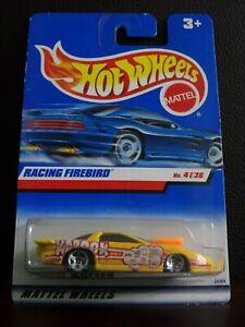 Hot Wheel Racing Firebird amarillo 4/36 1999 tarjeta larga