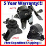 L380 Fit 2007-2012 Kia Rondo 2.4L Engine Motor & Transmission Mount Set 3pcs
