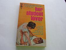 HER STUDENT LOVER  1963    NEAL JAMES    SCANDALOUS & TABOO SEX   NEAR FINE