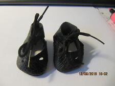 Puppenschuhe, schwarz, Gr. 49, passend f. Schildkröt
