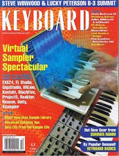 Steve Winwood Lucky Peterson B-3, Clavia Nord Lead 2x, VG 2003 Keyboard Magazine