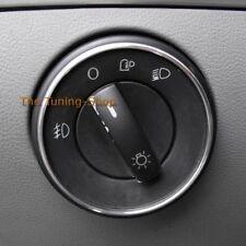 Per VW Touareg 02-10 IN LEGA ASSETTO Surround per le luci Interruttore Cromo Anello x 1 NUOVO