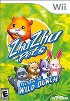 Zhu Zhu Pets: Featuring the Wild Bunch (Nintendo Wii, 2010)