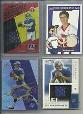 2004 Fleer Hot Prospects - ELI MANNING - Game Used Jersey Rookie - GIANTS #d/345