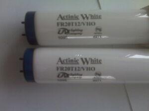 """VHO-24"""" UVL/URI 2-75 Watt Actinic White T12 Bulbs For Fresh or Salt Water New!!!"""