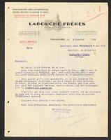 """TOULOUSE (31) EDITEUR de CARTES POSTALES / IMPRIMERIE """"LABOUCHE Freres"""" en 1934"""