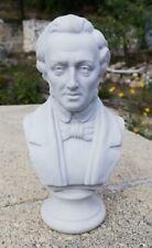 Buste de Chopin en biscuit, numéroté