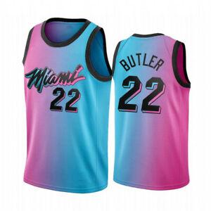 Men's Miami Heat Jimmy Butler #22  black swingman jersey NEW
