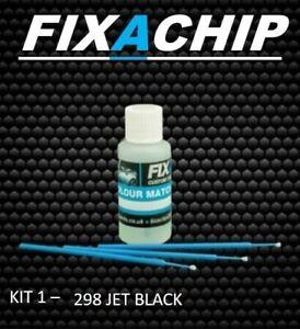 SAAB CAR TOUCH UP PAINT - CODE 298 - JET BLACK (KIT 1)
