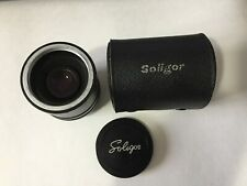 Soligor Auto Tele Converter 3X To Fit Pentax Lens With Case