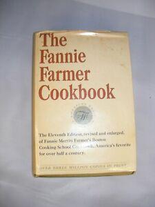 Fannie Farmer Cookbook...Eleventh Edition...1965 Good Condition w/Dust Jacket