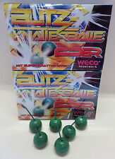 tolles Feuerwerk: 50 Stck. Blitz- Knatterbälle * Powerballs * Feuerball * PARTY
