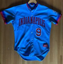 1980's Indianapolis Indians Game Used Minor League AAA Rawlings Baseball Jersey