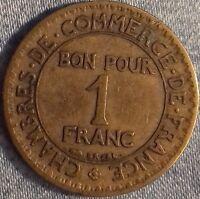 PIÈCE MONNAIE 1 FRANC  BRONZE 1923     Ref : 00098