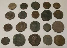 Lot of 20 - Ancient Roman - Imperial 27 BC-476 AD - Bronze Coins